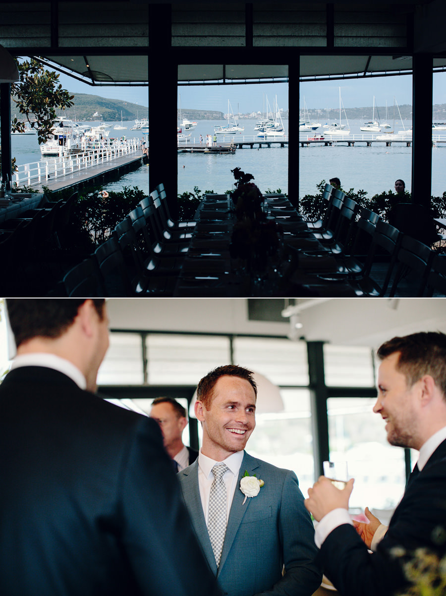Balmoral Beach Wedding Photographers: Cocktail hour