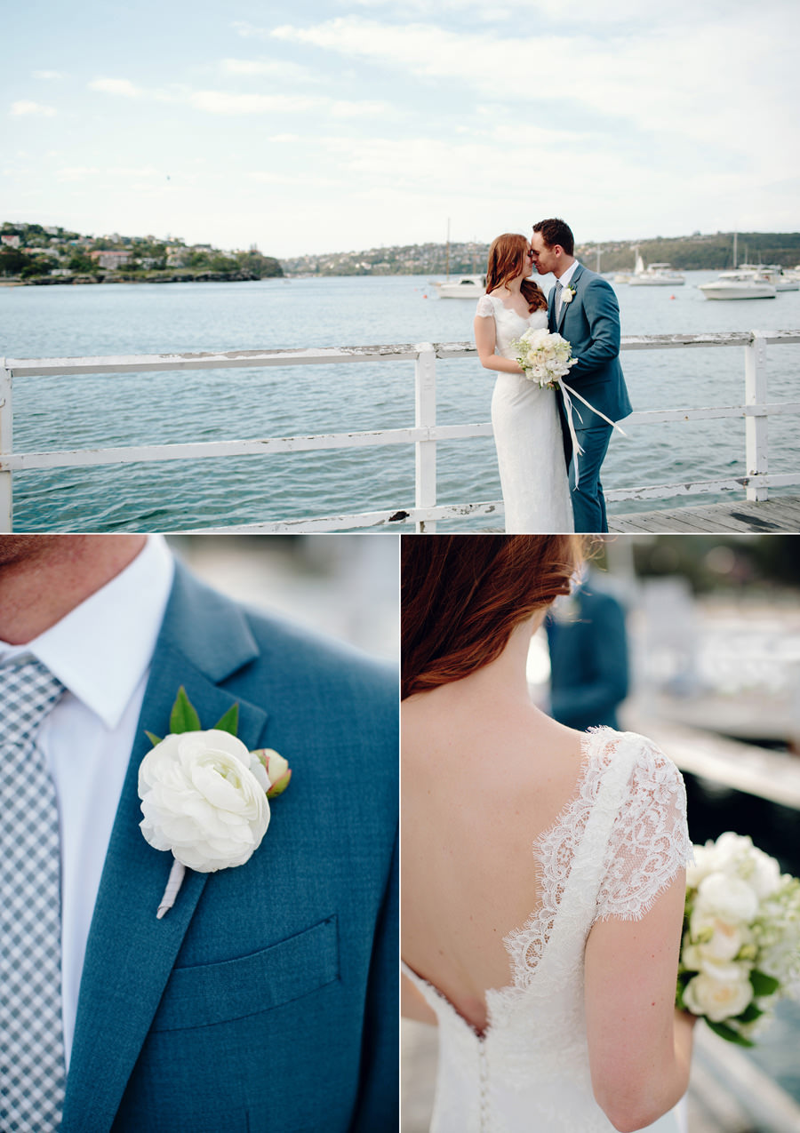 Balmoral Pier Wedding Photography: Portraits