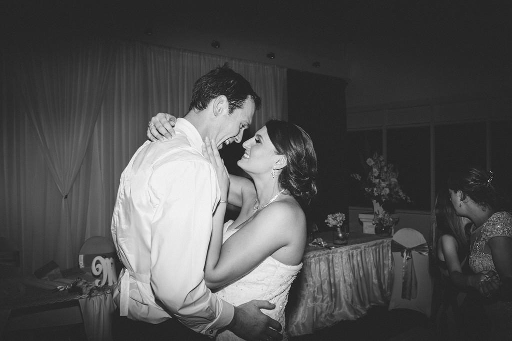 Danielle Graham Wedding 782 BW