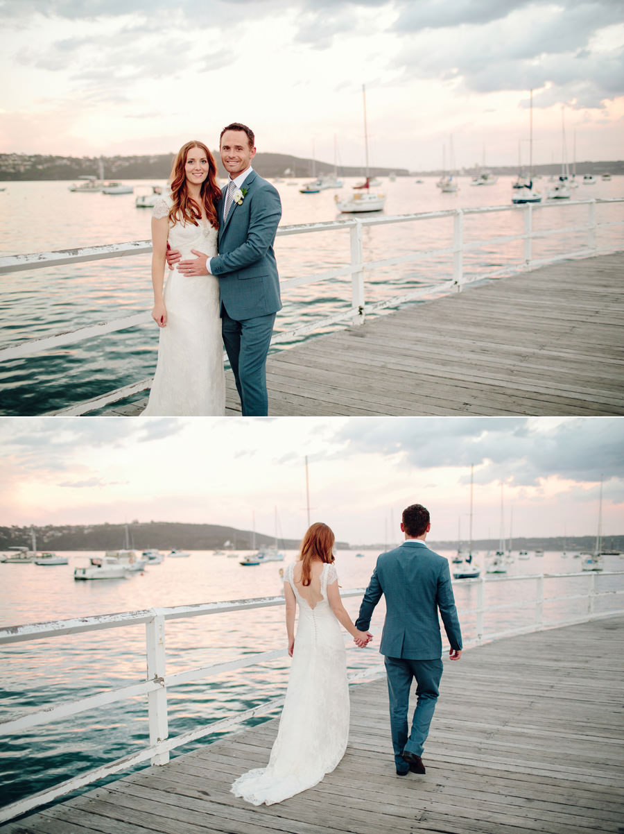Elegant Wedding Photographer: Sunset portraits