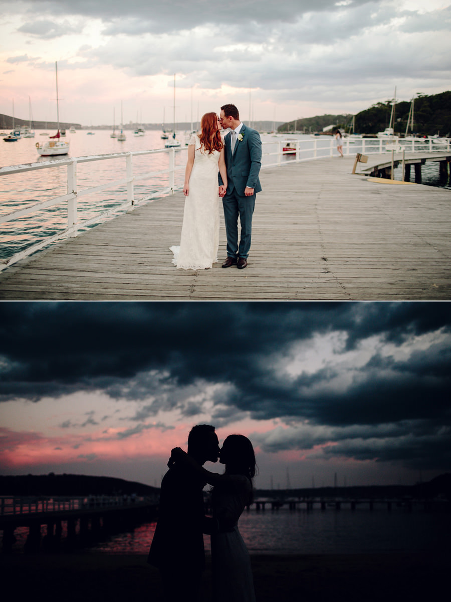Elegant Wedding Photographers: Sunset portraits
