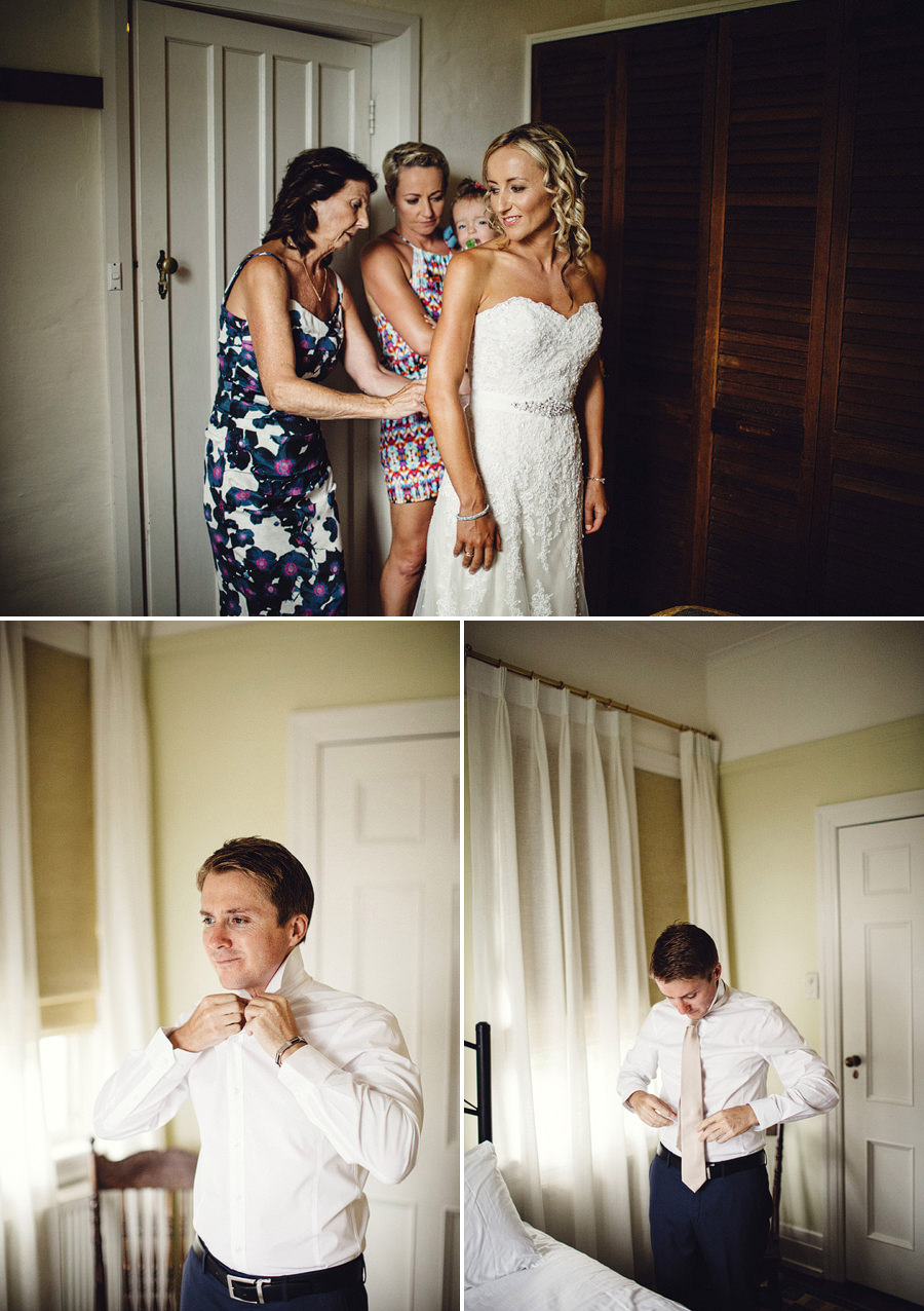 Documentary Wedding Photography: Getting ready