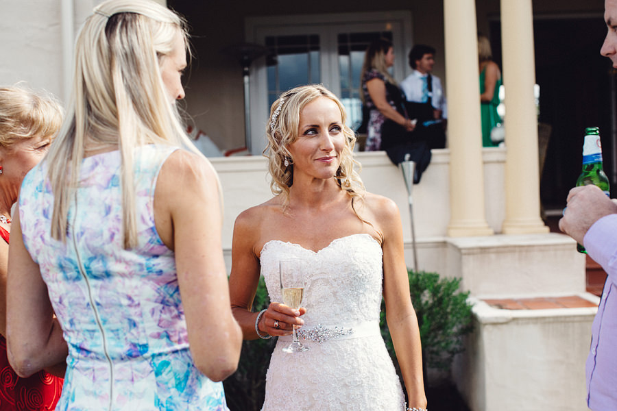 Candid Wedding Photography: Cocktail Hour