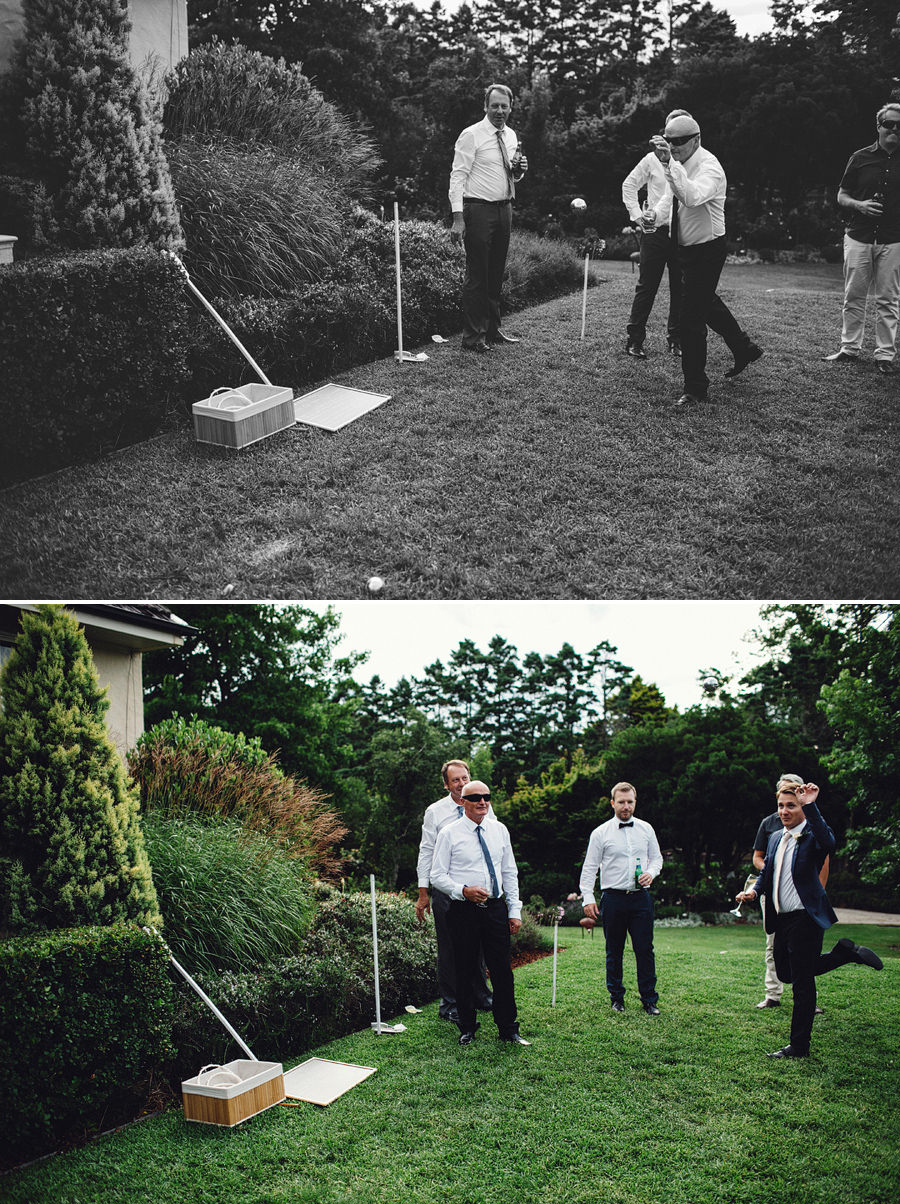 Lawn Games Wedding Photography: Lawn Games