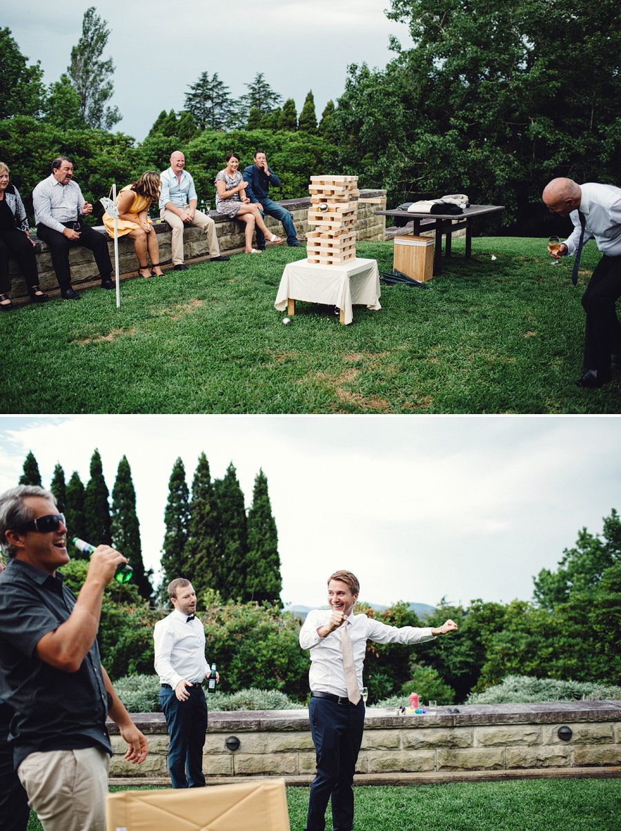 Wentworth Falls Wedding Photographers: Lawn Games