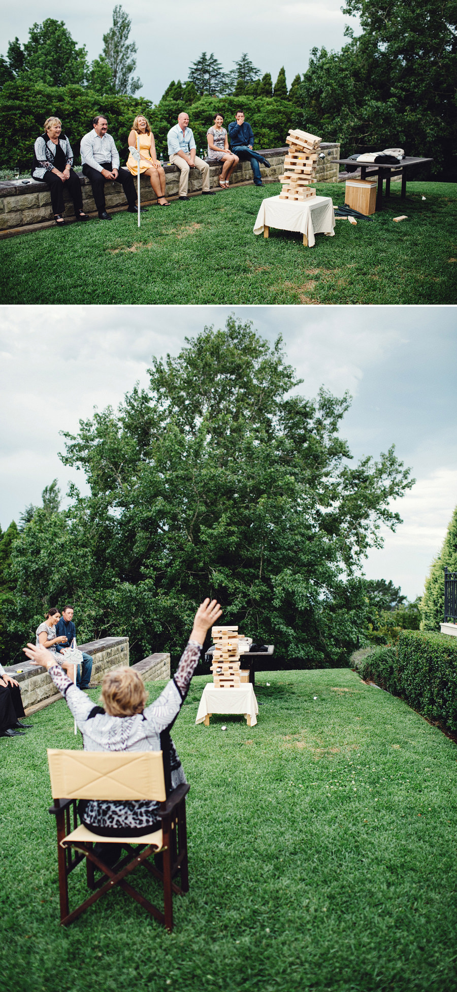 Wentworth Falls Wedding Photography: Lawn Games