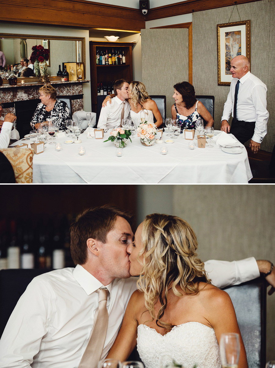 Intimate Wedding Photographer: Reception