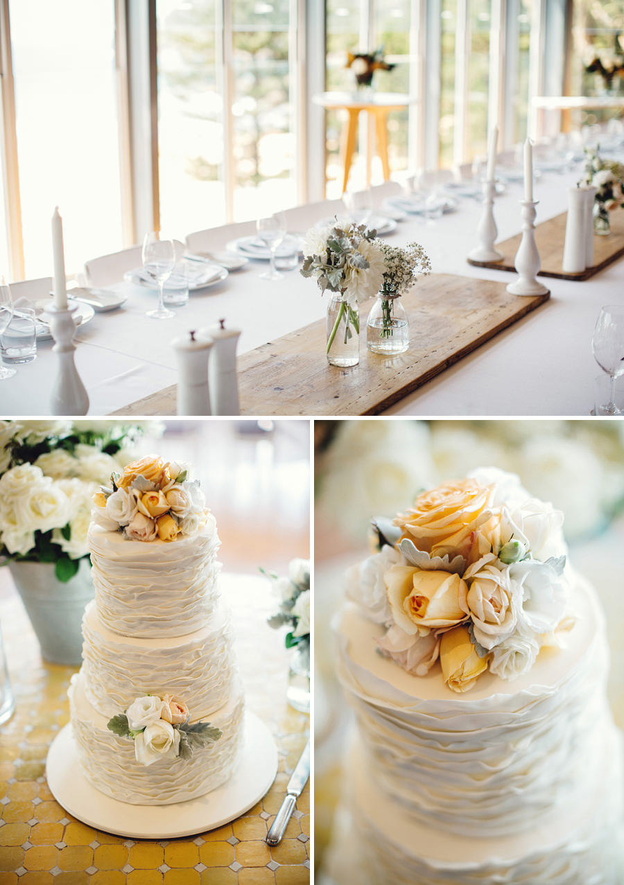 Northern Beaches Wedding Photographers: Cake
