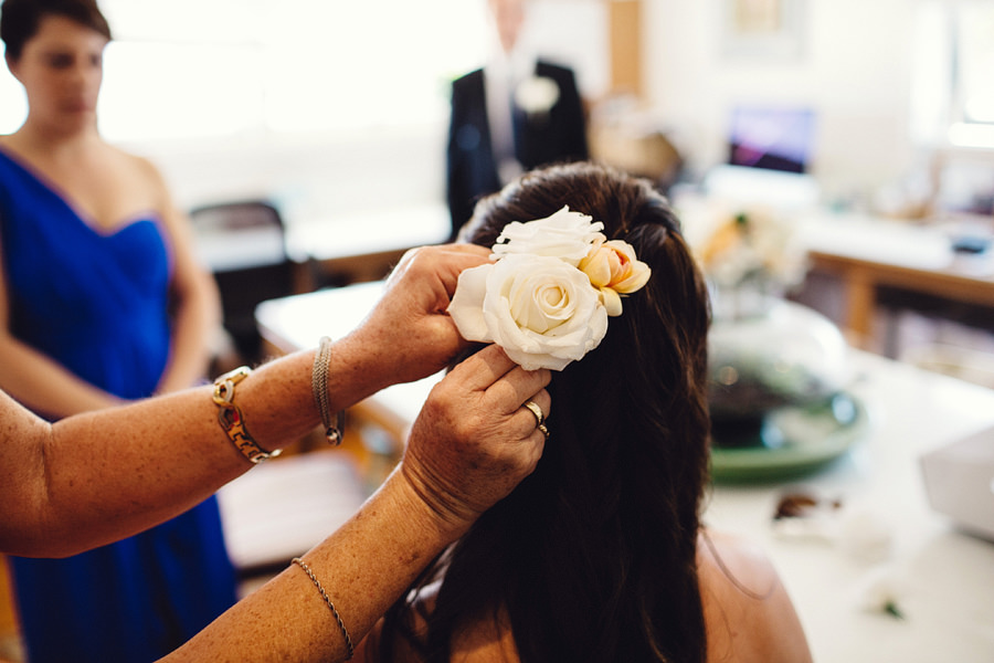 Documentary Wedding Photographer: Getting Ready