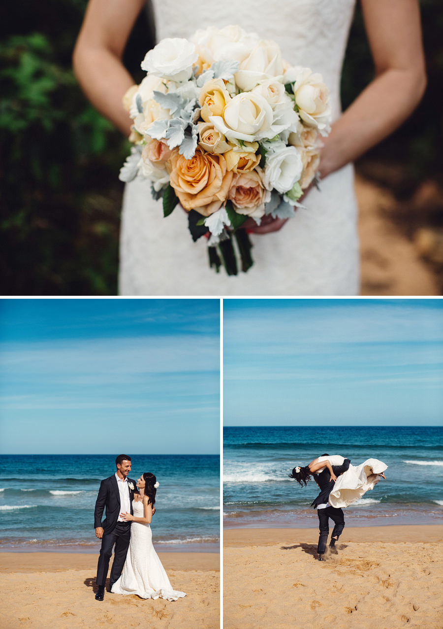 Whale Beach Wedding Photographers: Portraits