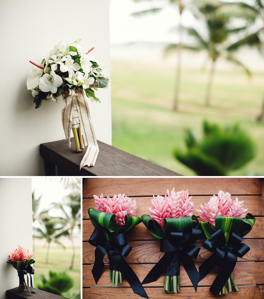 Fiji Wedding Photographers: Bouquets