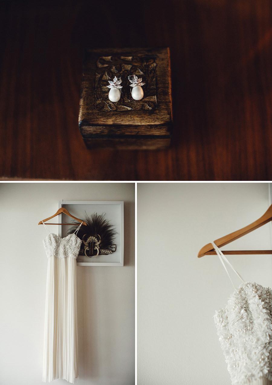 Modern Wedding Photography: Bride's dress