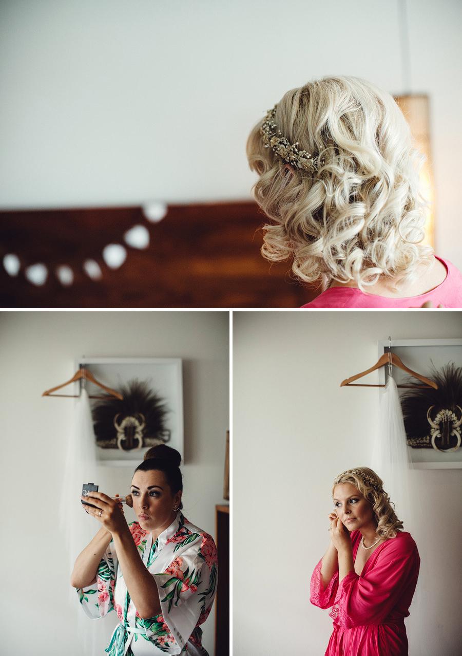 Documentary Wedding Photographer: Bride getting ready