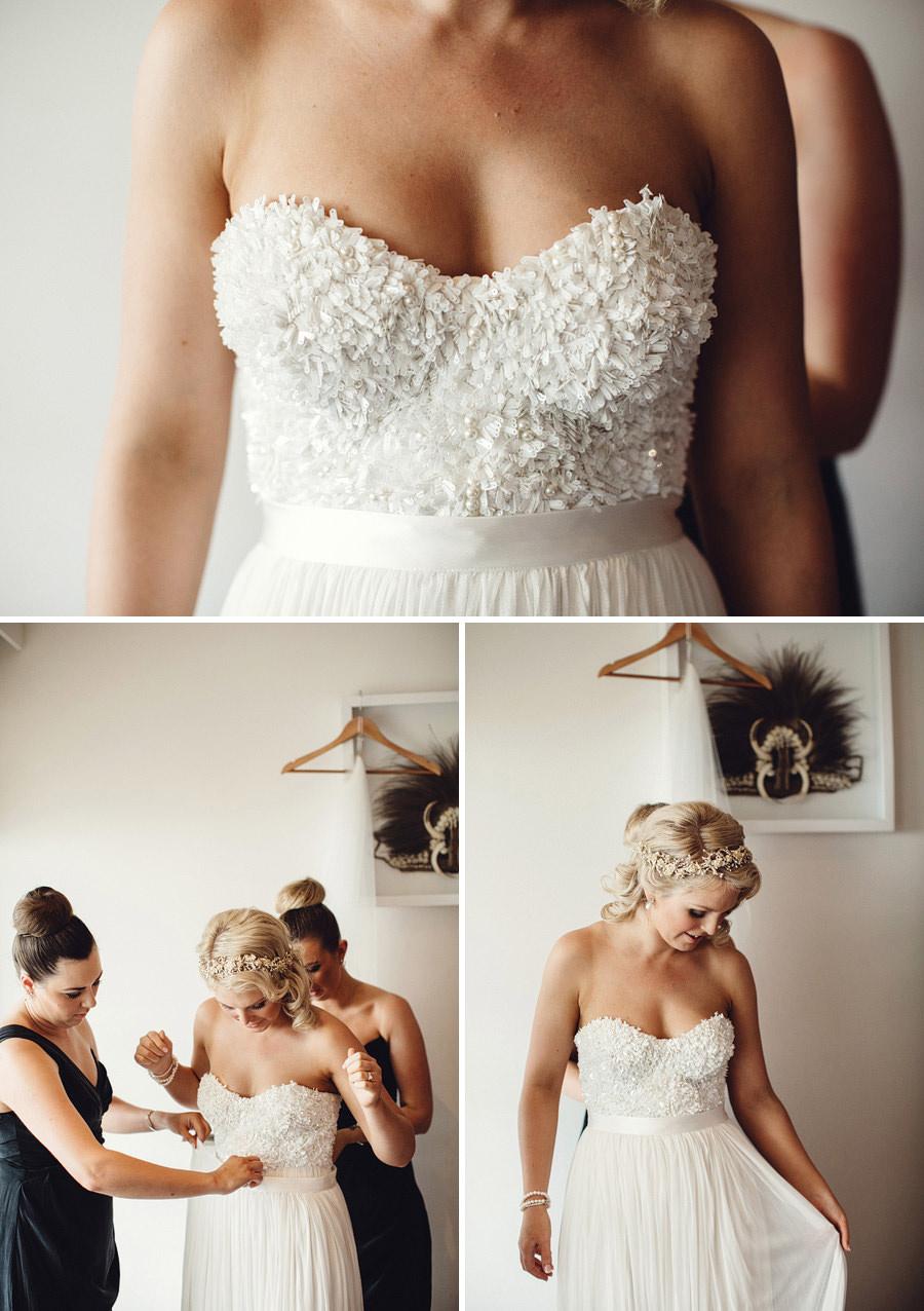 Hilton Fiji Wedding Photographer: Bride getting ready