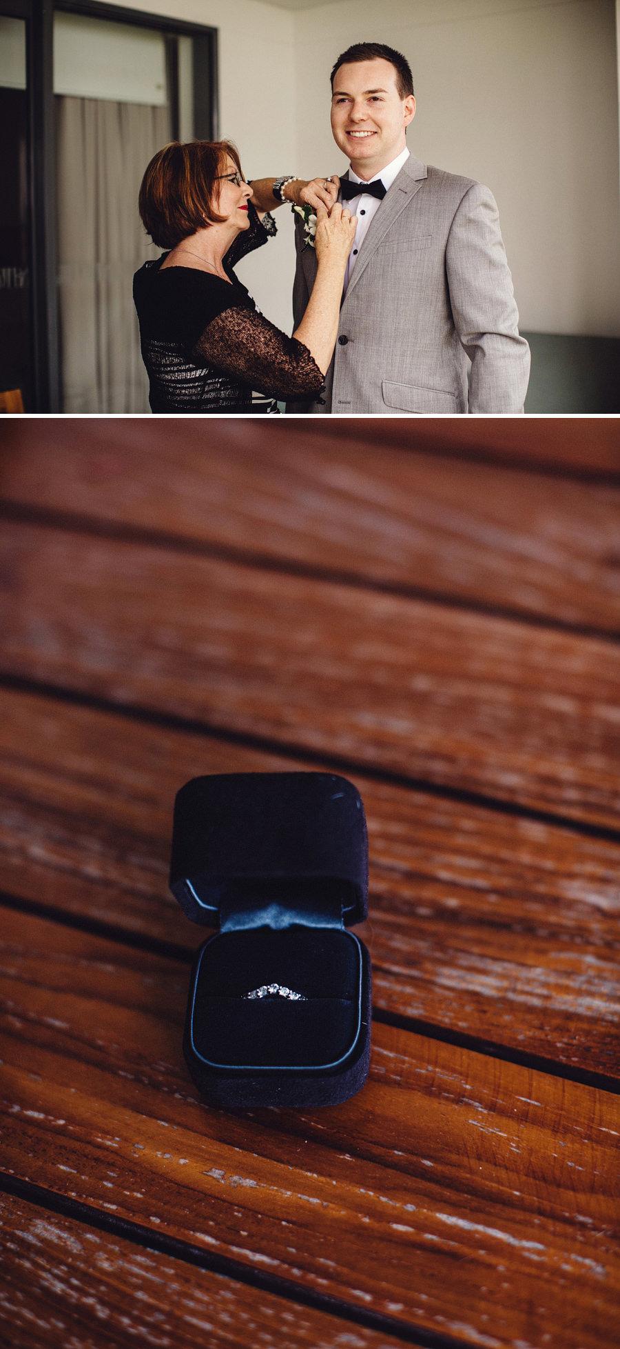 Timeless Wedding Photographer: Groom getting ready