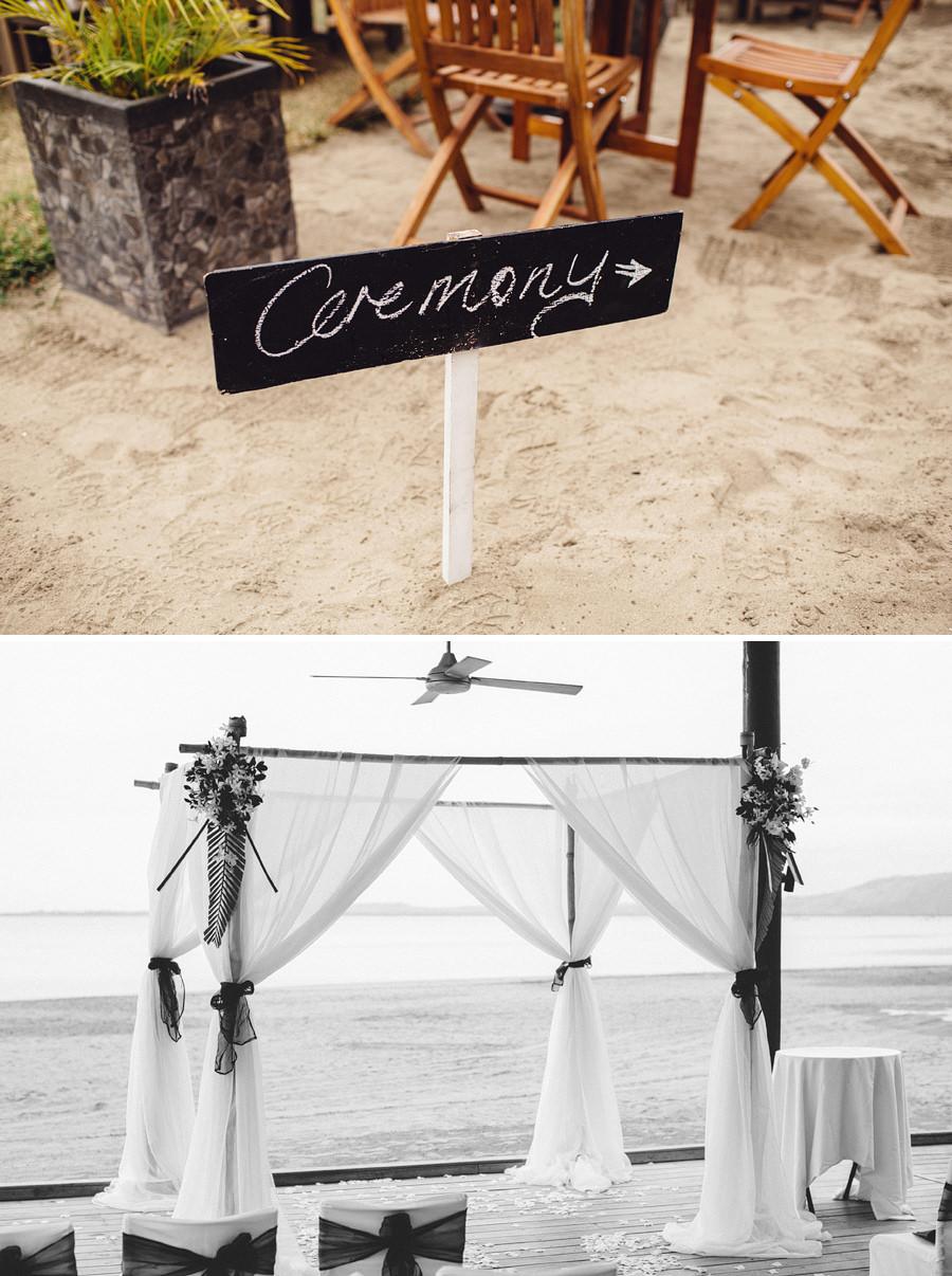 Hilton Fiji Beach Resort and Spa Wedding Photographer: Ceremony details
