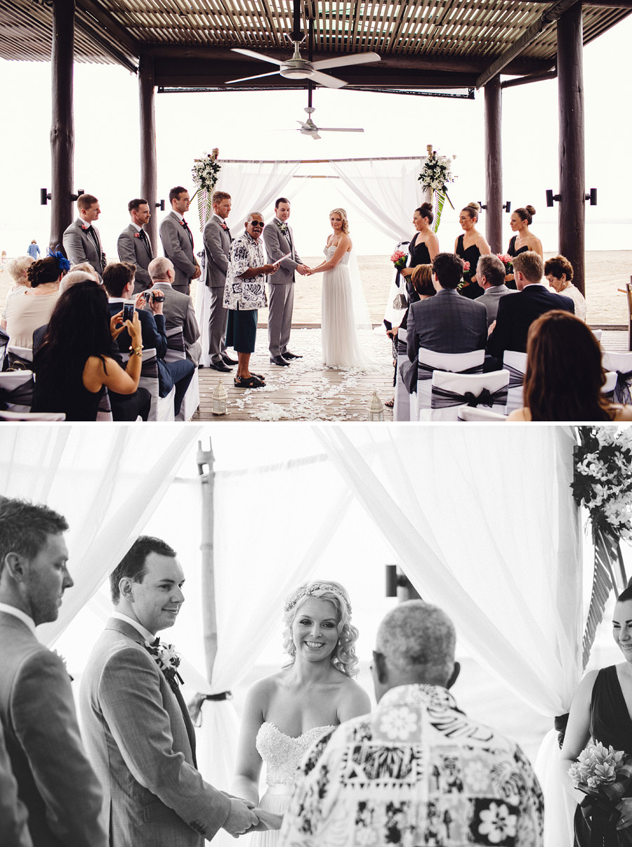 Hilton Fiji Beach Resort and Spa Wedding Photography: Ceremony