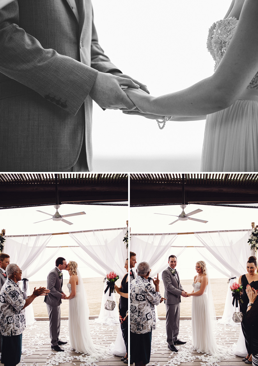 Denarau Island Fiji Wedding Photographer: Ceremony