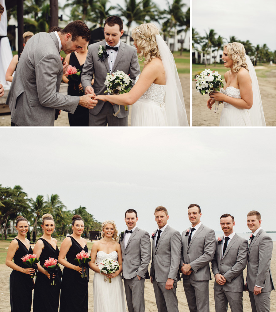 Hilton Fiji Wedding Photographer: Bridal party portraits