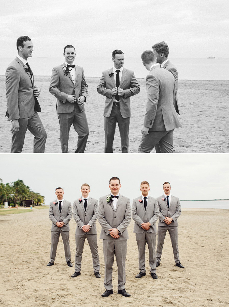 Candid Wedding Photography: Bridal party portraits