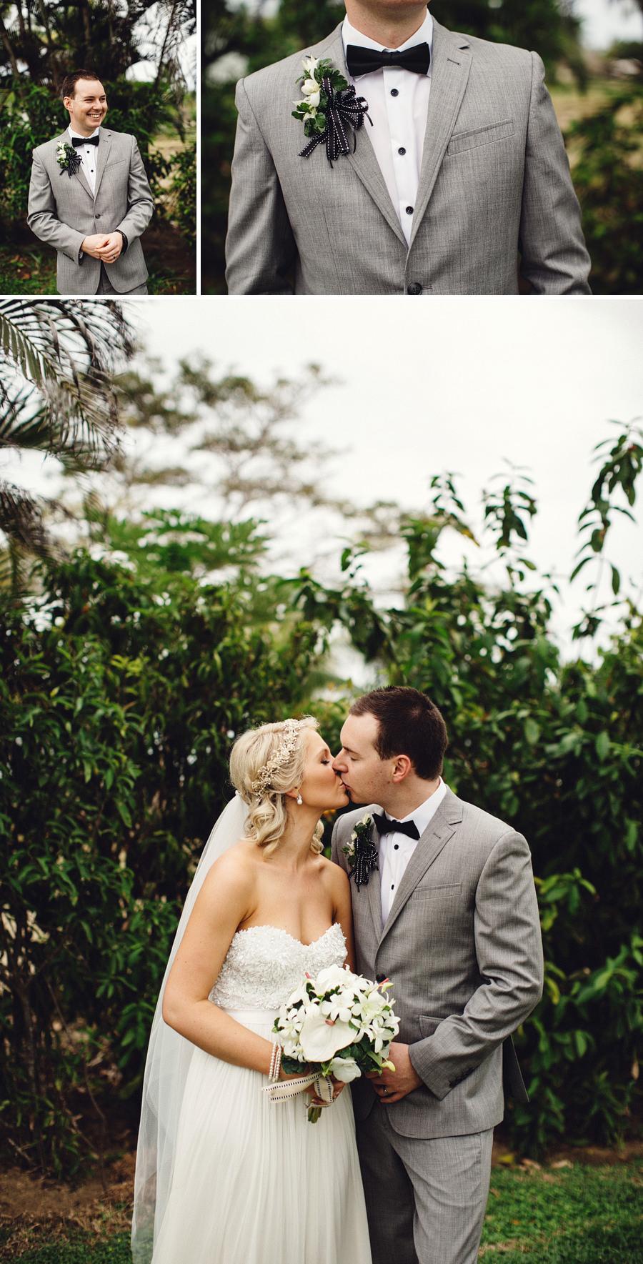 Fiji Wedding Photography: Bride & Groom portraits