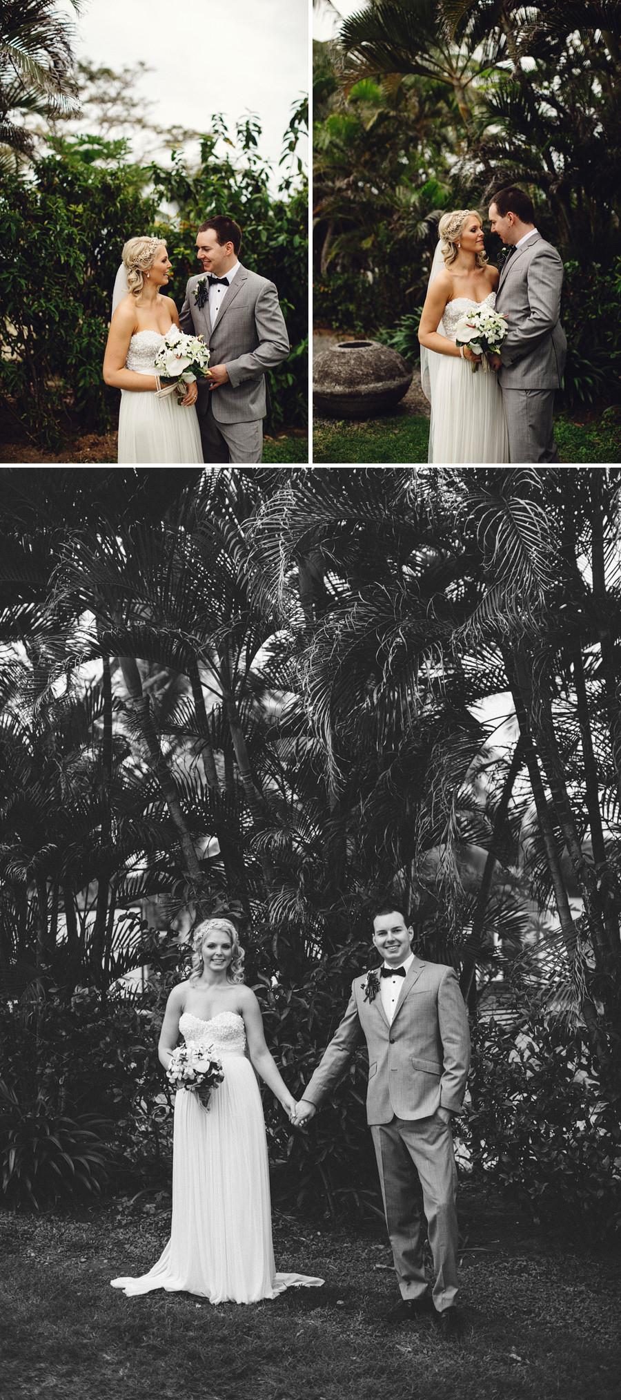 Hilton Fiji Wedding Photographer: Bride & Groom portraits