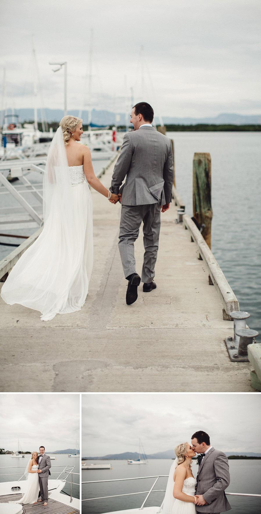 Port Denarau Wedding Photographer: Bride & Groom portraits