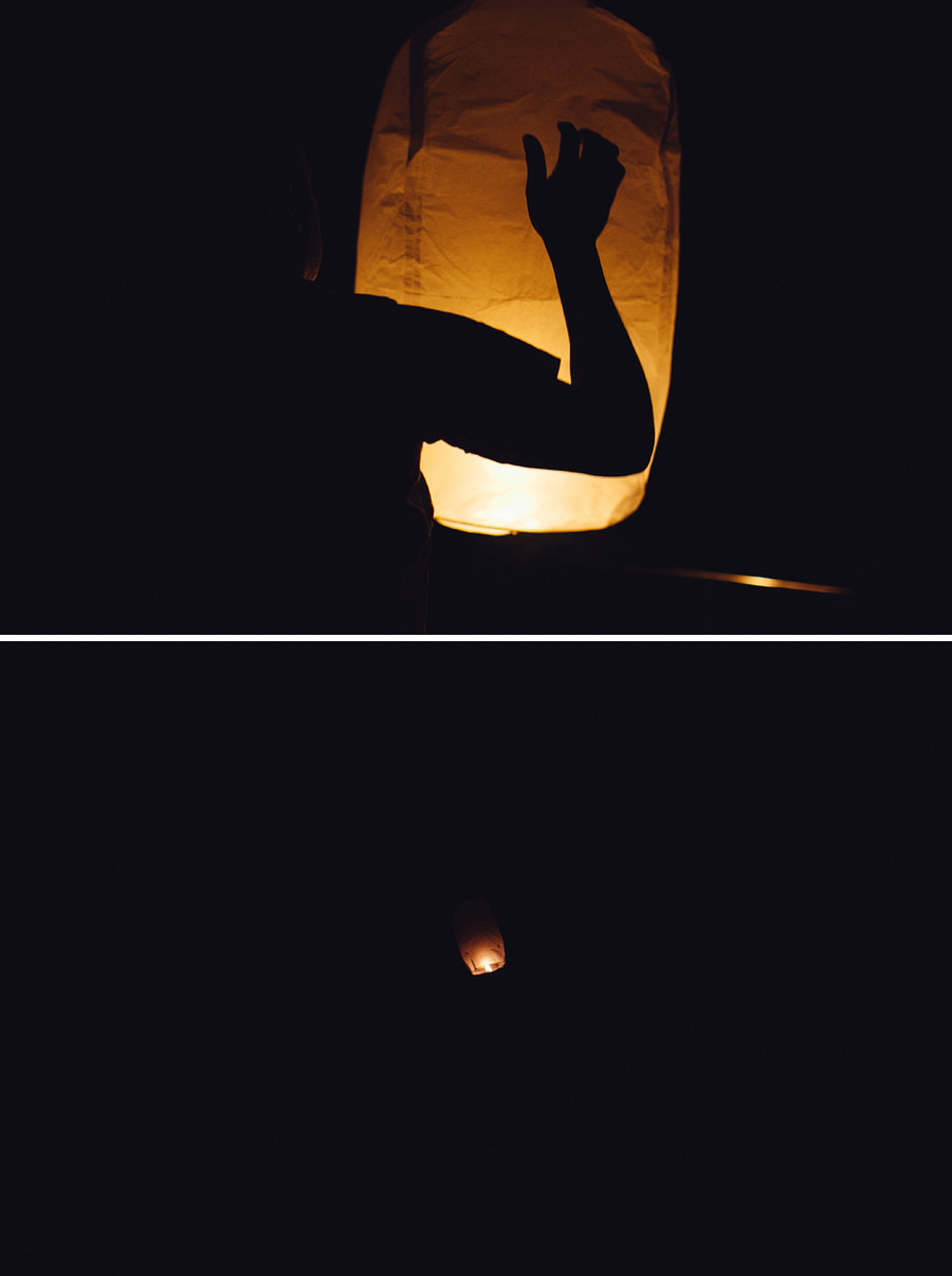 International Wedding Photography: Sky lanterns
