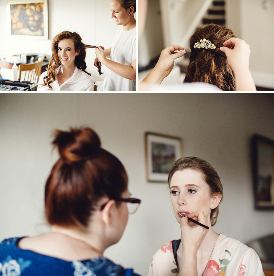 Bondi Wedding Photography: Girls getting ready