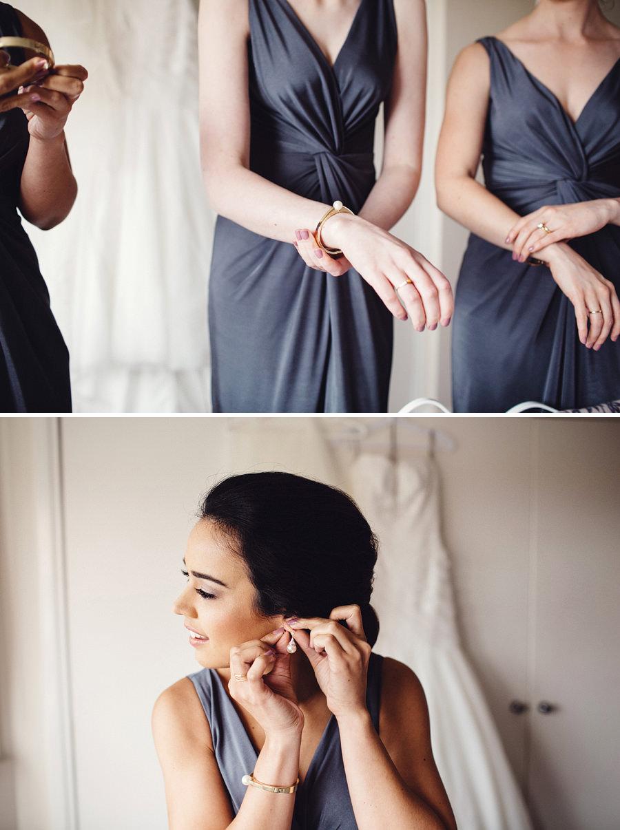 Queens Park Wedding Photographers: Girls getting ready