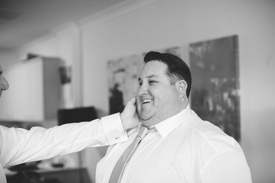 Northern Beaches Wedding Photography: Boys getting ready