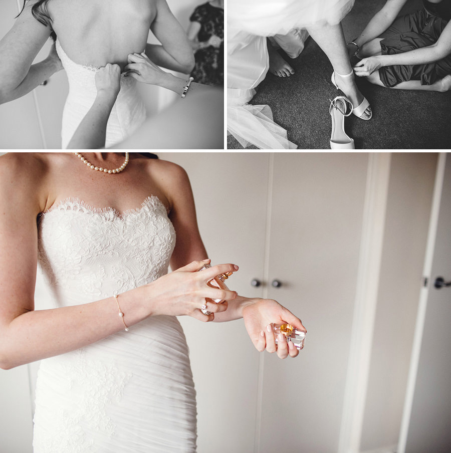 Queens Park Wedding Photography: Girls getting ready