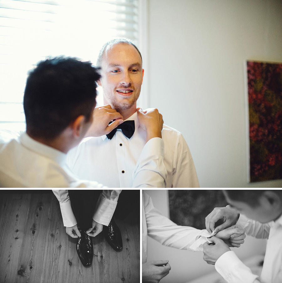 Eastern Suburbs Wedding Photographer: Boys getting ready
