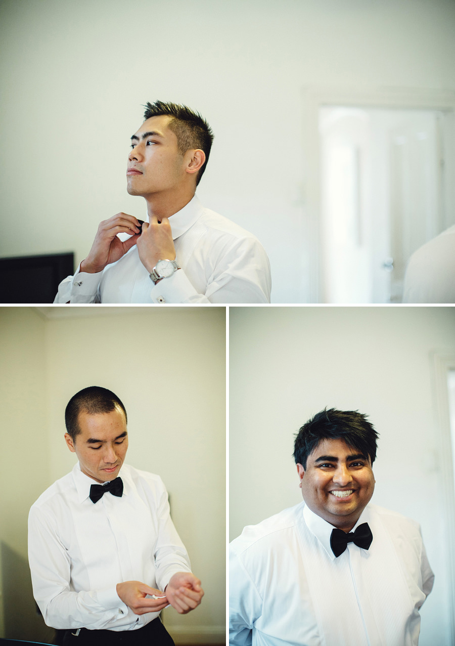 Eastern Suburbs Wedding Photographers: Boys getting ready