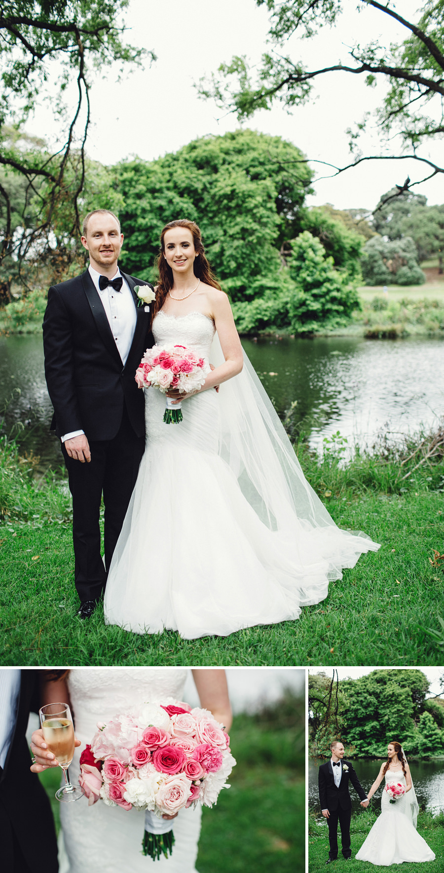 Centennial Park Wedding Photographer: Bridal Party Portraits