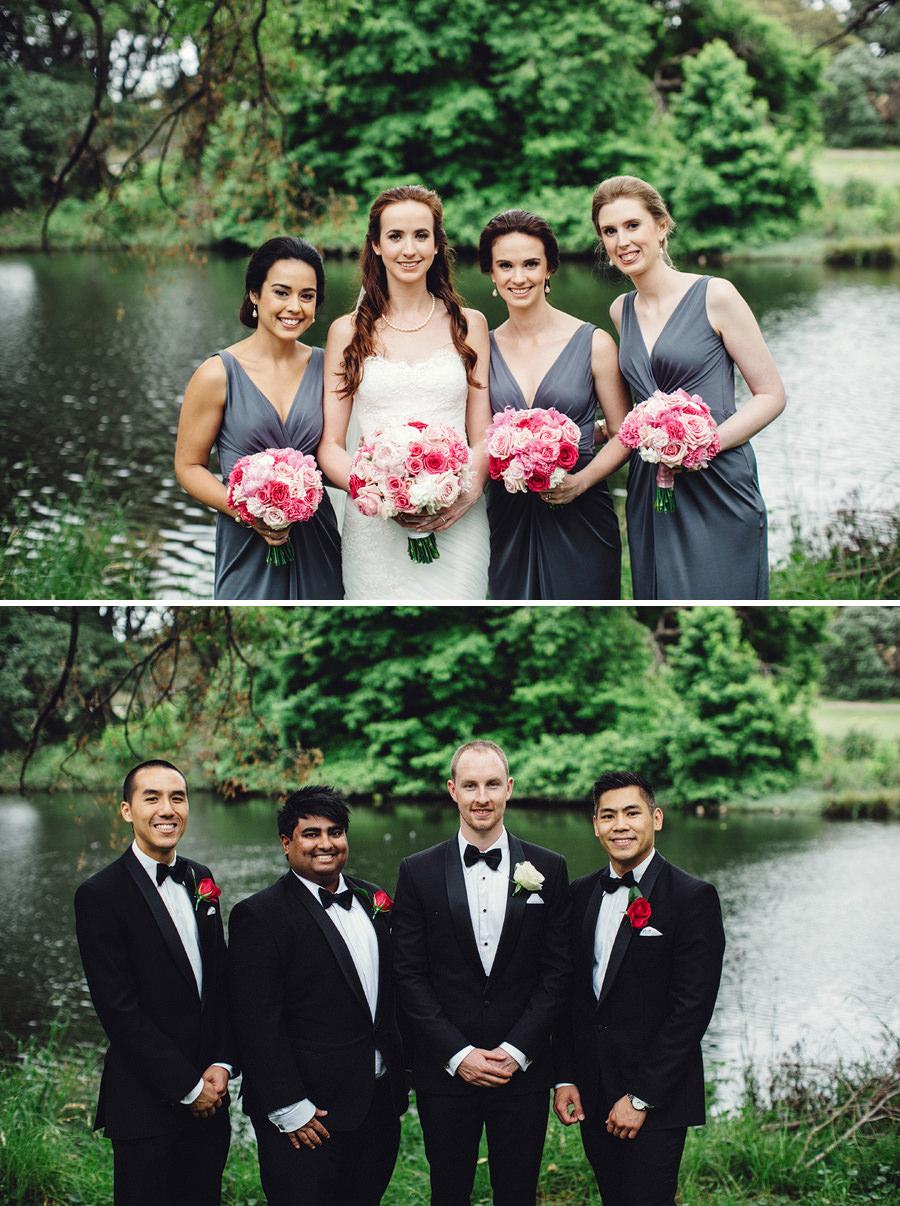 Centennial Park Wedding Photographers: Bridal Party Portraits
