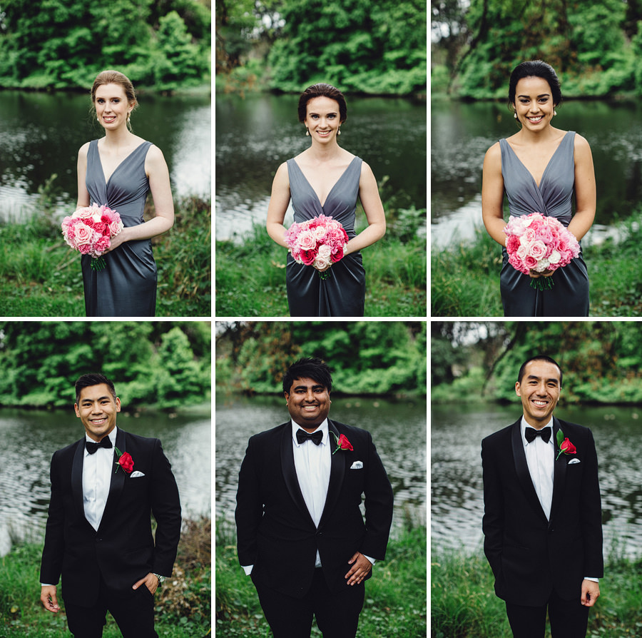 Centennial Park Wedding Photography: Bridal Party Portraits