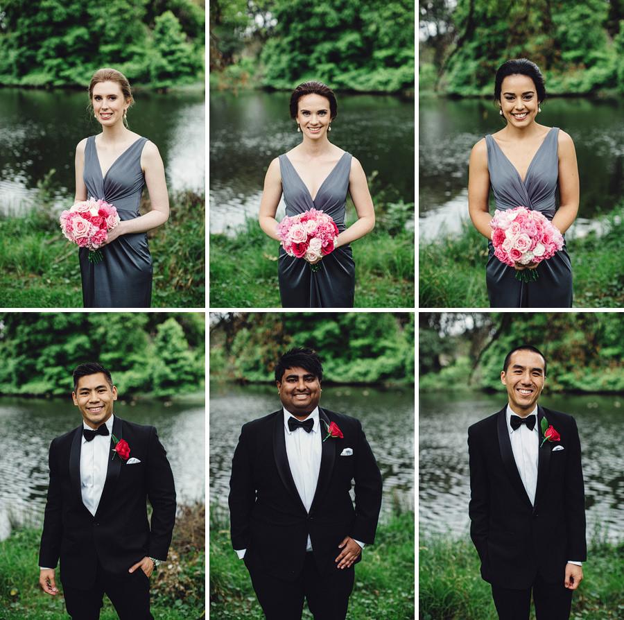 Centennial Park Wedding Photography: Bridal Party Portraits