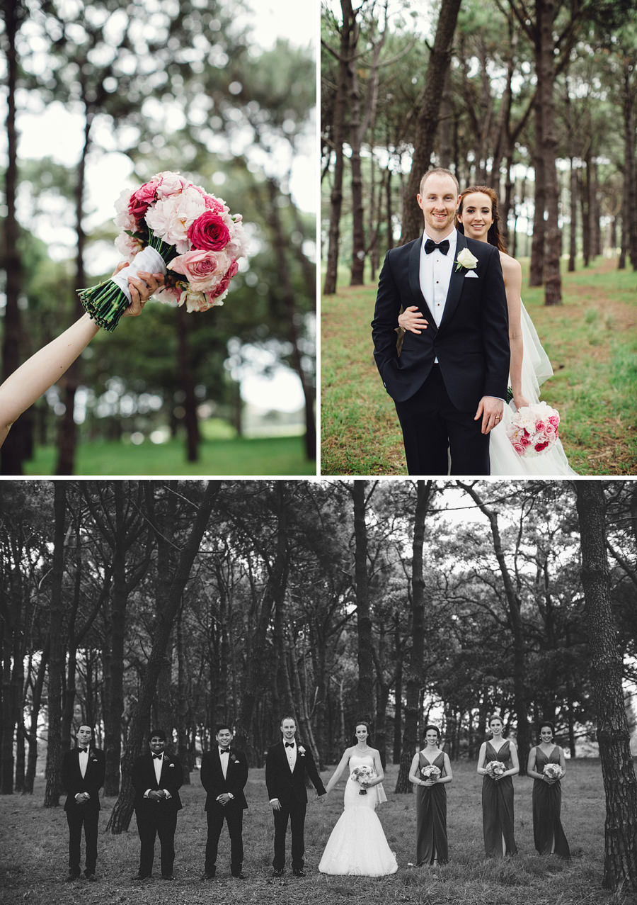 Timeless Wedding Photographer: Bridal Party Portraits