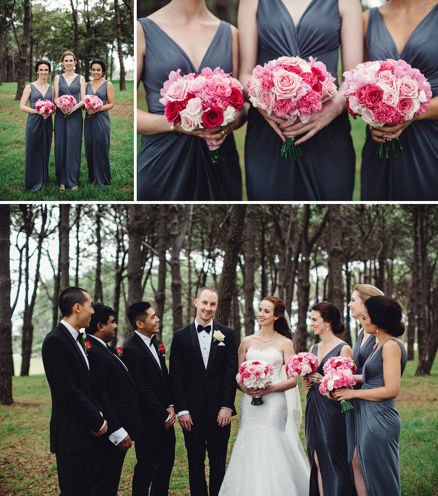 Timeless Wedding Photographers: Bridal Party Portraits