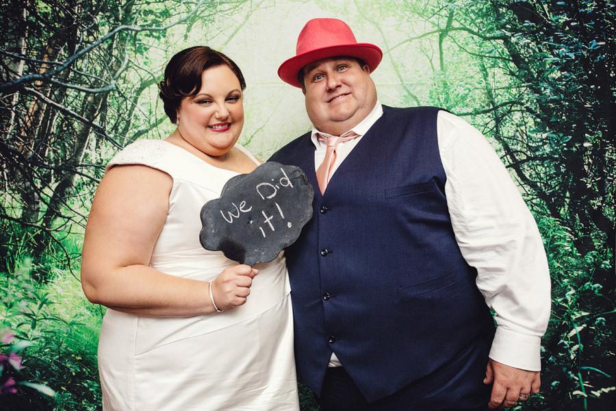 Open Style Photobooth: Merryn & Blake