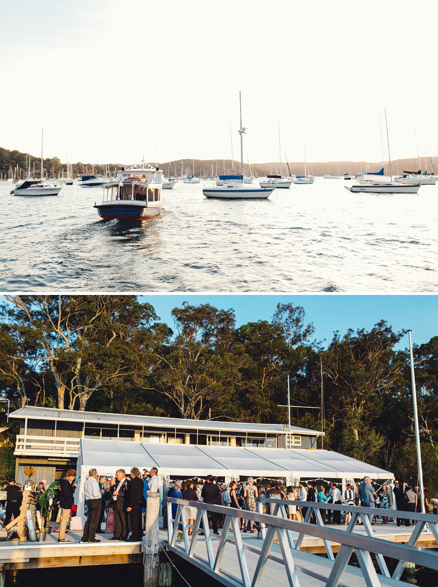 Avalon Sailing Club Wedding Photographer: Reception arrival