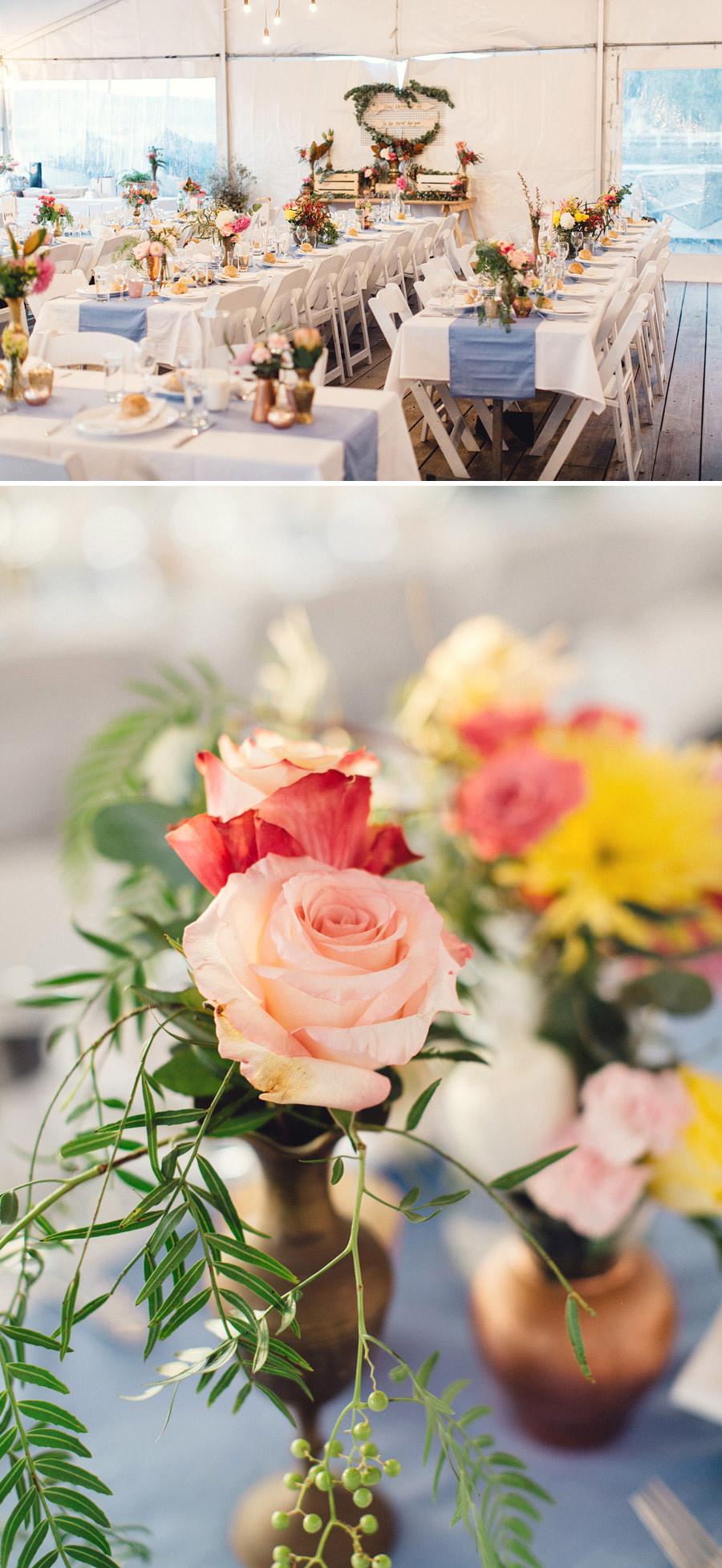 Avalon Sailing Club Wedding Photographers: Reception details