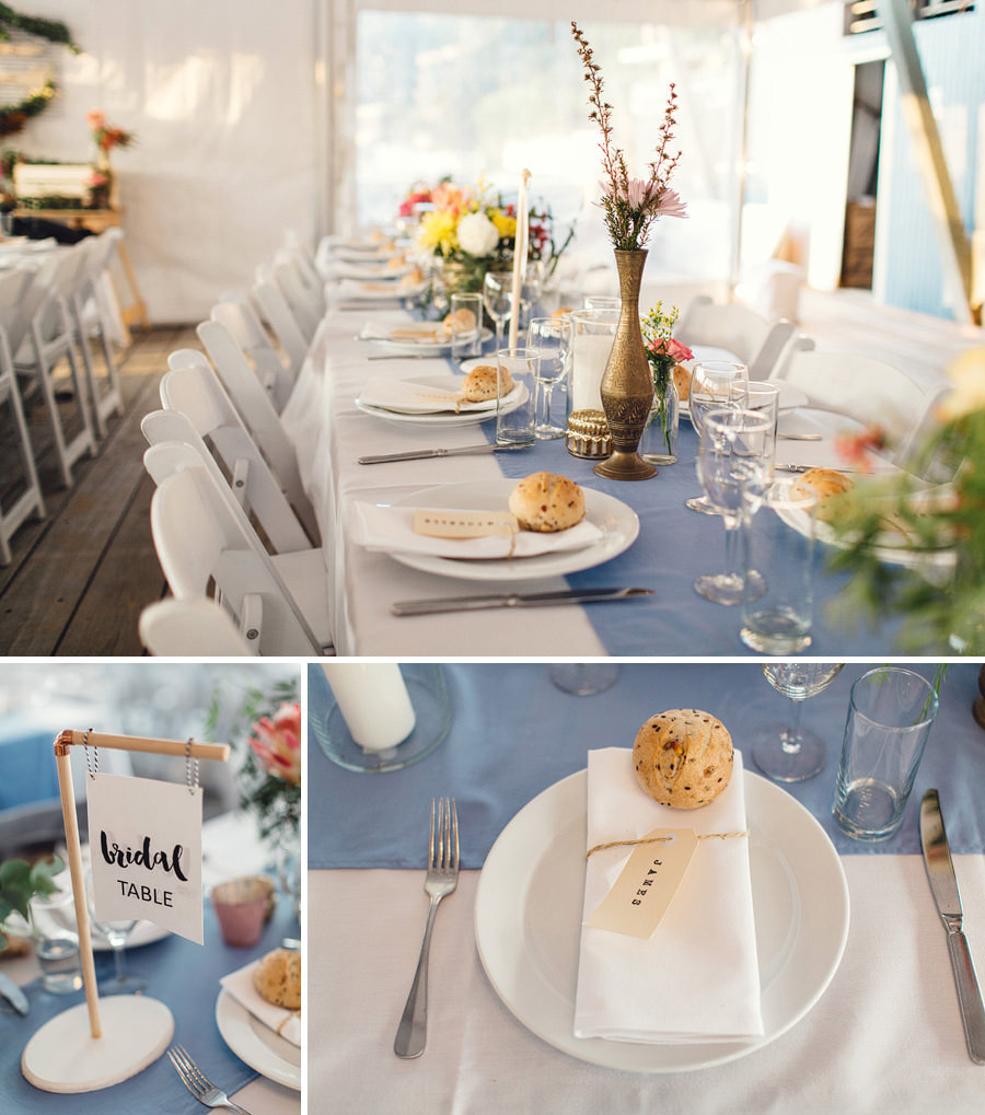 Avalon Sailing Club Wedding Photography: Reception details