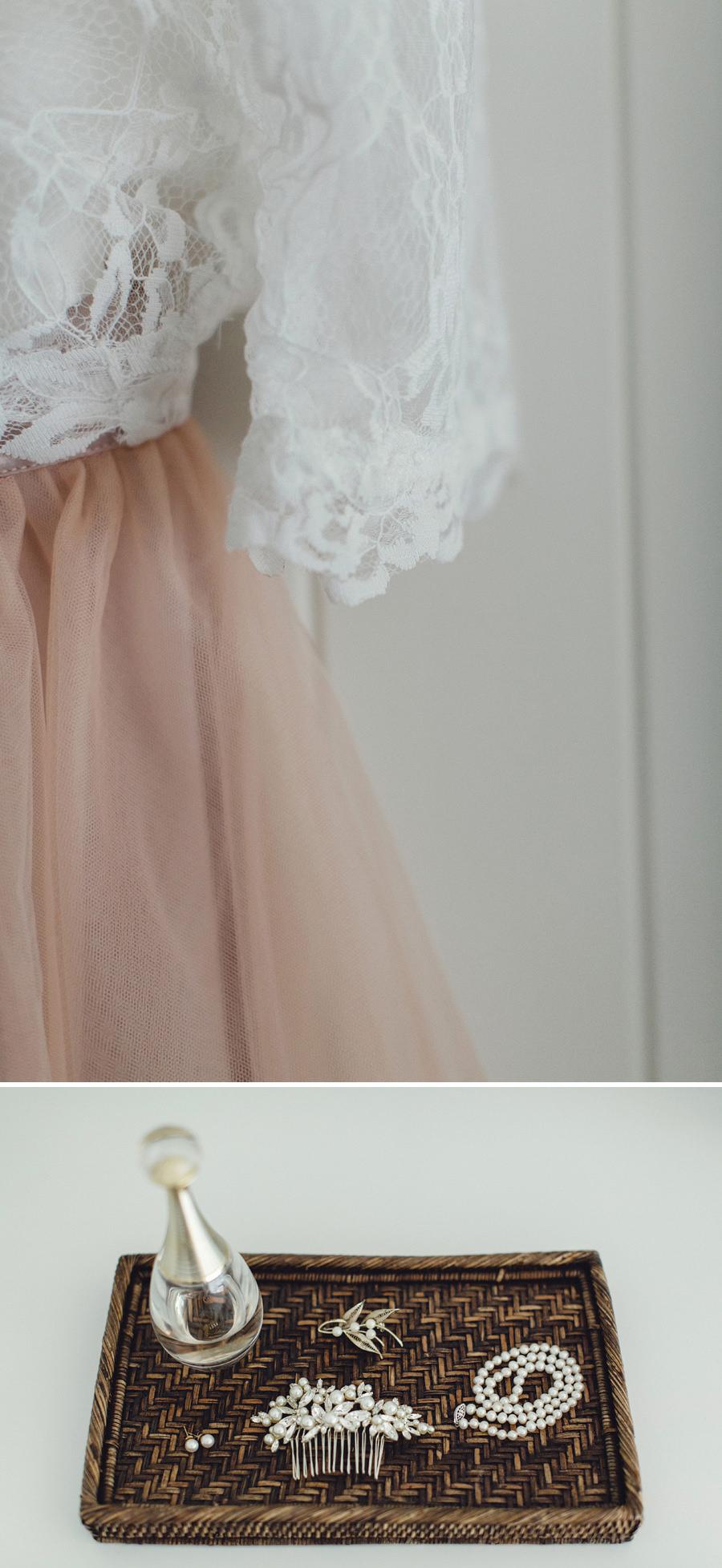 Clareville Wedding Photographers: Bride's details