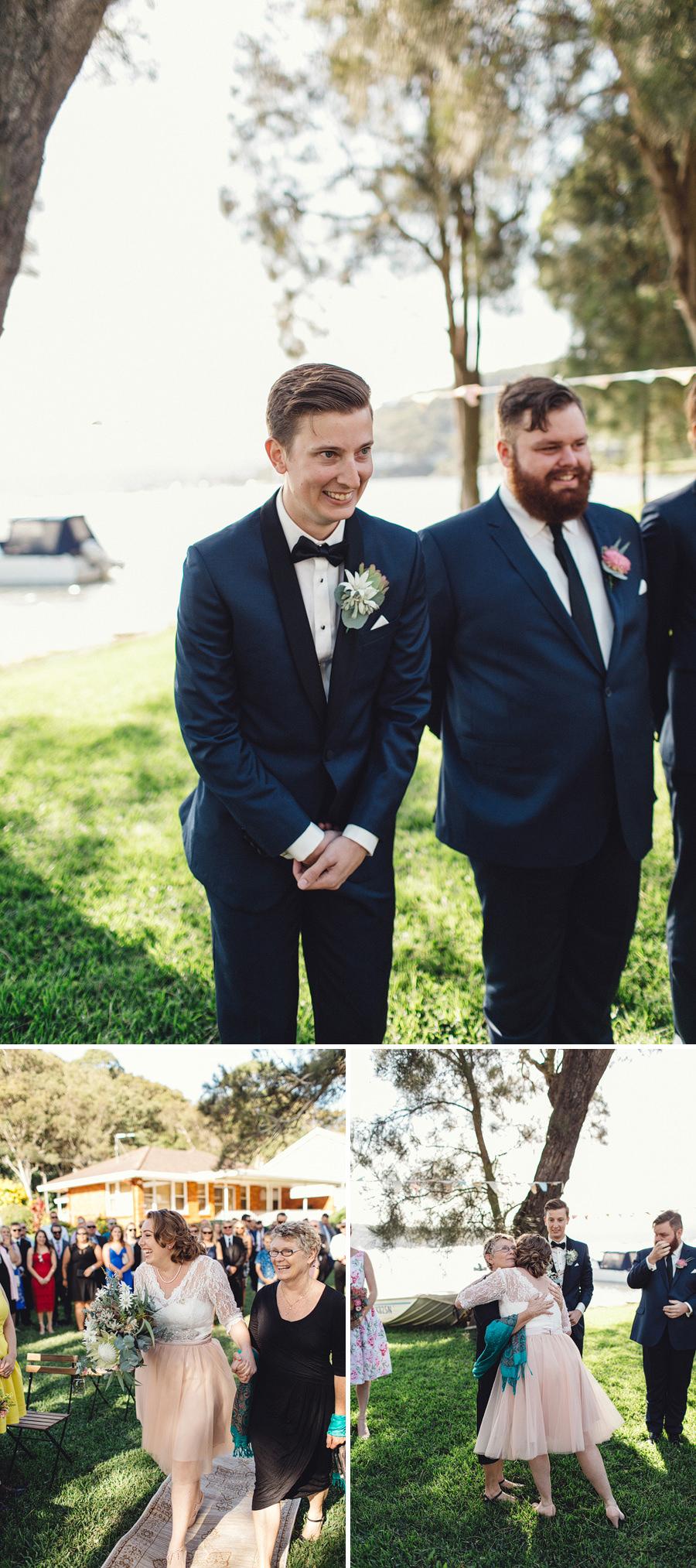 Currawong Reserve Wedding Photographers: Ceremony