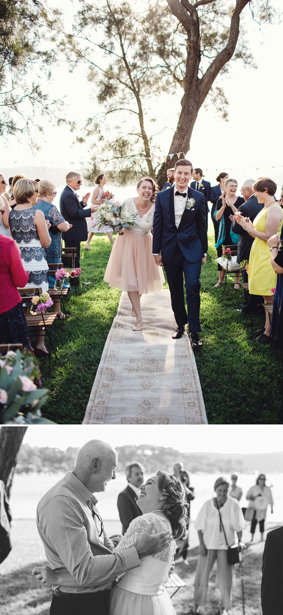 Currawong Reserve Wedding Photography: Ceremony