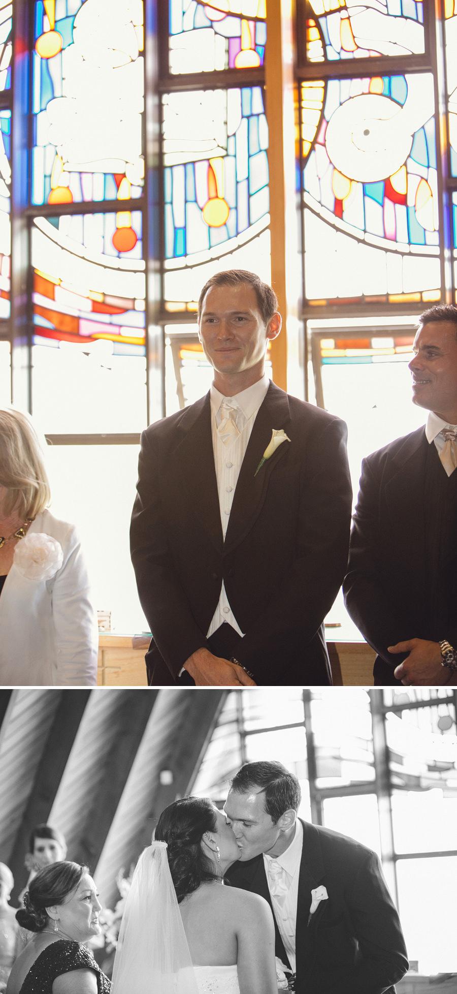 Little Bay Chapel Wedding Photography: Ceremony