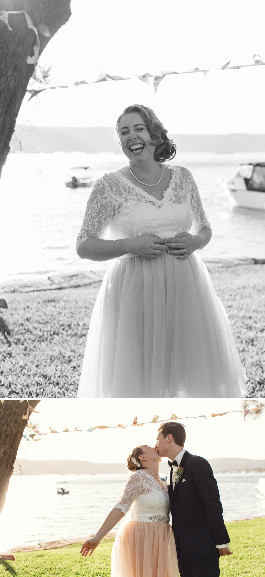 North Shore Wedding Photographer:Bride & Groom portraits