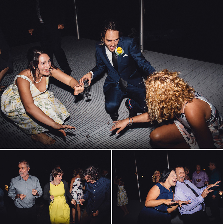 North Shore Wedding Photography: Dancefloor